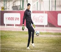 محمد الشناوي يشارك في مران الأهلي