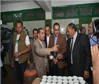 رئيس الوزراء يغير خط سيره ويفاجئ مدرسة الزقازيق الزراعية بزيارتها