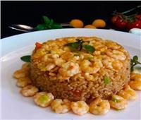 طبق اليوم.. تعرفي على طريقة عمل الأرز بالجمبري