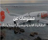فيديوجراف  معلومات لا تعرفها عن الطائرة الاندونيسية المنكوبة