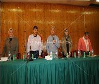 محافظ المنوفية يستمع لطلبات وشكاوي المواطنين بمدينة سرس الليان