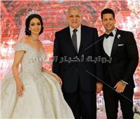 صور| العسيلي وصافينار يحيان زفاف نجل شقيق المهندس إبراهيم محلب
