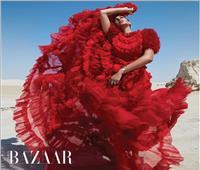 صور| سعر صادم لـ «فستان ياسمين صبري» في جلسة تصوير جريئة