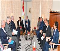 السيسي يشيد بالعلاقات المصرية الألمانية في مجال مكافحة الإرهاب