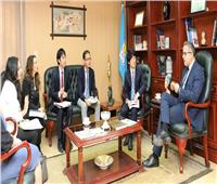 وزير الآثار يستقبل مدير إدارة الشرق الأوسط لوكالة الجايكا اليابانية