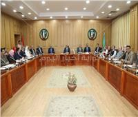 محافظ المنوفية يشهد الاجتماع الشهري للمجلس الإقليمي للصحة