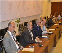 وضع اللمسات النهائية لقافلة التنمية الشاملة لجامعة عين شمس