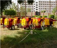 سوهاج تتسلم 15 «مفرمة» للتخلص من المخلفات الزراعية