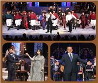 صور| تفاصيل الليلة الثالثة لمهرجان الموسيقى العربية