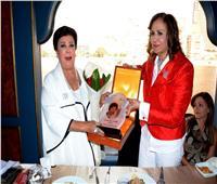 لجنة المرأة بـ«المصرية اللبنانية» تكرم الفنانة رجاء الجداوي