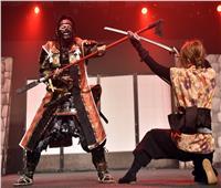 صور| فنون «النينجا» القتالية على مسرح «الشارقة الدولي للكتاب»