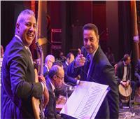 مدحت صالح ومروة ناجي يتألقان بمهرجان الموسيقى العربية بالإسكندرية