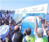 وزير النقل يتفقد موقع إنشاء محور «دراو» على النيل بأسوان