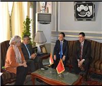 بحث سبل التعاون بين جامعة عين شمس و جامعة قوانغدونغ الصينية