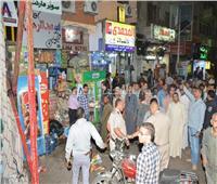 إزالة 280 حالة إشغالات بشوارع مدينة سوهاج