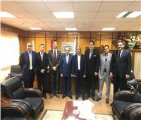 نائب رئيس جامعة الأزهر يبحث مع المستشار الثقافي الياياني أوجه التعاون العلمي