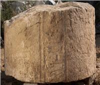 الكشف عن أحجار منقوشة بـ«معبد الشمس» في منطقة آثار المطرية