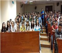 وفداً من طلاب جامعة بكين للغابات الصينية يزور جامعة بنها