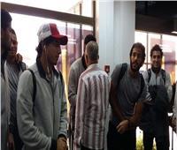 بعثة الأهلي تصل مطار«قرطاچ» الدولي
