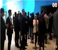 بدء توافد المشاركين في الجلسة الختامية لمنتدى شباب العالم 2018| فيديو