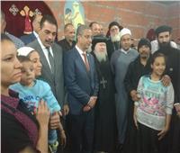 محافظ سوهاج والأنبا باخوم يزوران الناجين من «حادث المنيا»