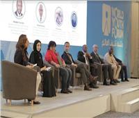 بالصور|«بوابة أخبار اليوم» تحاور 12 متحدثاً في جلسات منتدى شباب العالم