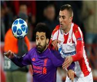 شاهد| النجم الأحمر يتقدم على ليفربول بهدفين في الشوط الأول