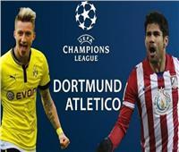 بث مباشر.. مباراة أتلتيكو مدريد وبوروسيا دورتموند