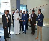 أشرف صبحي يتفقد مع نظيره البحريني مدينة الشباب والرياضة