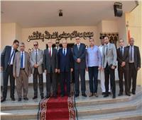 «أبو العزم» يزور مجمع محاكم مجلس الدولة بالأقصر