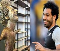 عاجل| تفاصيل مكالمة محمد صلاح مع صانعة تمثاله