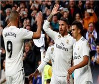فيديو| ريال مدريد يكتسح بطل التشيك في الشوط الأول