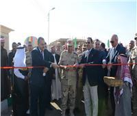 بالصور.. القوات المسلحة تنشئ تجمعًا حضاريًا جديدًا بوسط سيناء