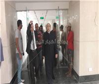 أمين «البحوث الإسلامية» يتجول داخل مبنى المجمع بمدينة نصر