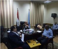 نائب محافظ القاهرة يبحث استعدادات الأحياء لحملة «فيروس سي»