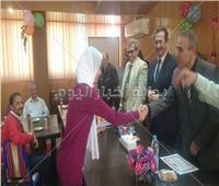 تكريم الطلاب من أبناء العاملين بقطاع الريفي سيناء والإسماعيلية