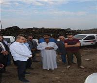 محافظ الغربية يتفقد المدفن الصحي بمدينة طنطا