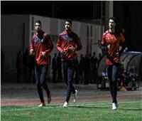 قبل «موقعة رداس»..تألق حراس مرمى الأهلي في المران الأخير بتونس