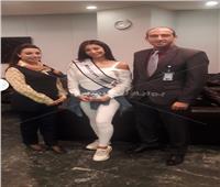ملكة جمال مصر تشارك بمسابقة «جمال الكون» في الصين