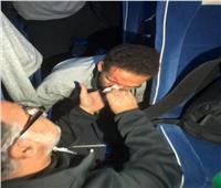 فيديو وصور| هجوم جماهير الترجي على بعثة النادي الأهلي في رادس