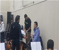 صور| بروفة حفل صابر الرباعي بمهرجان الموسيقى العربية