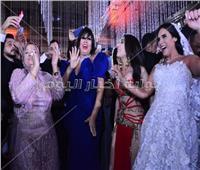 صور| عدوية وفيفي عبده يحتفلان بزفاف ابن خالد عجاج