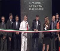 صور وفيديو| افتتاح المعرض العالمي «EICMA» للدارجات النارية بإيطاليا