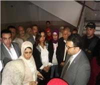 وزيرة الصحة ومحافظ دمياط تتفقدان بنك الدم وفرق «100 مليون صحة»