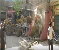 فيديو .. حملة مكبرة لرفع الإشغالات بمنطقة مصر القديمة