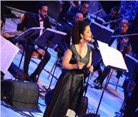 صور| نسمة محجوب تختتم عاشر ليالي مهرجان الموسيقى العربية