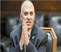 وزير الري يناقش قانون الموارد المائية الجديدمع أعضاء اللجنة