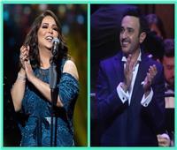 الليلة.. صابر الرباعي ونوال الكويتية على المسرح الكبير