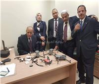 ضبط 6 طائرات تجسس داخل «جاكيت» راكب قادم من دبي بالمطار