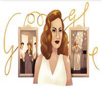 جوجل تحتفل بالذكرى الـ87 لميلاد الفنانة هند رستم